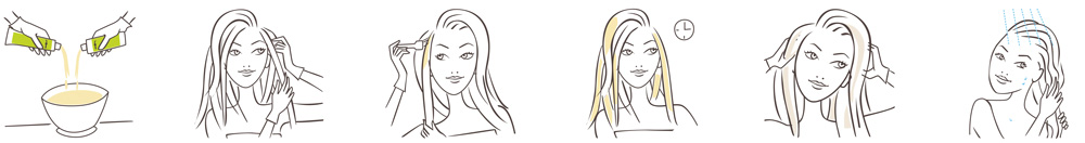 illustration-howto-woman-hair-beauty