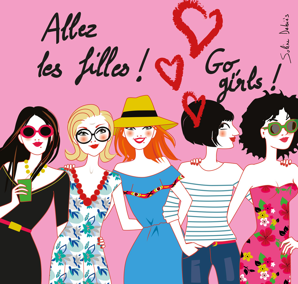 illustration for Ladies day