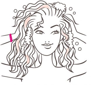 Beauty illustrator graphic Garnier
