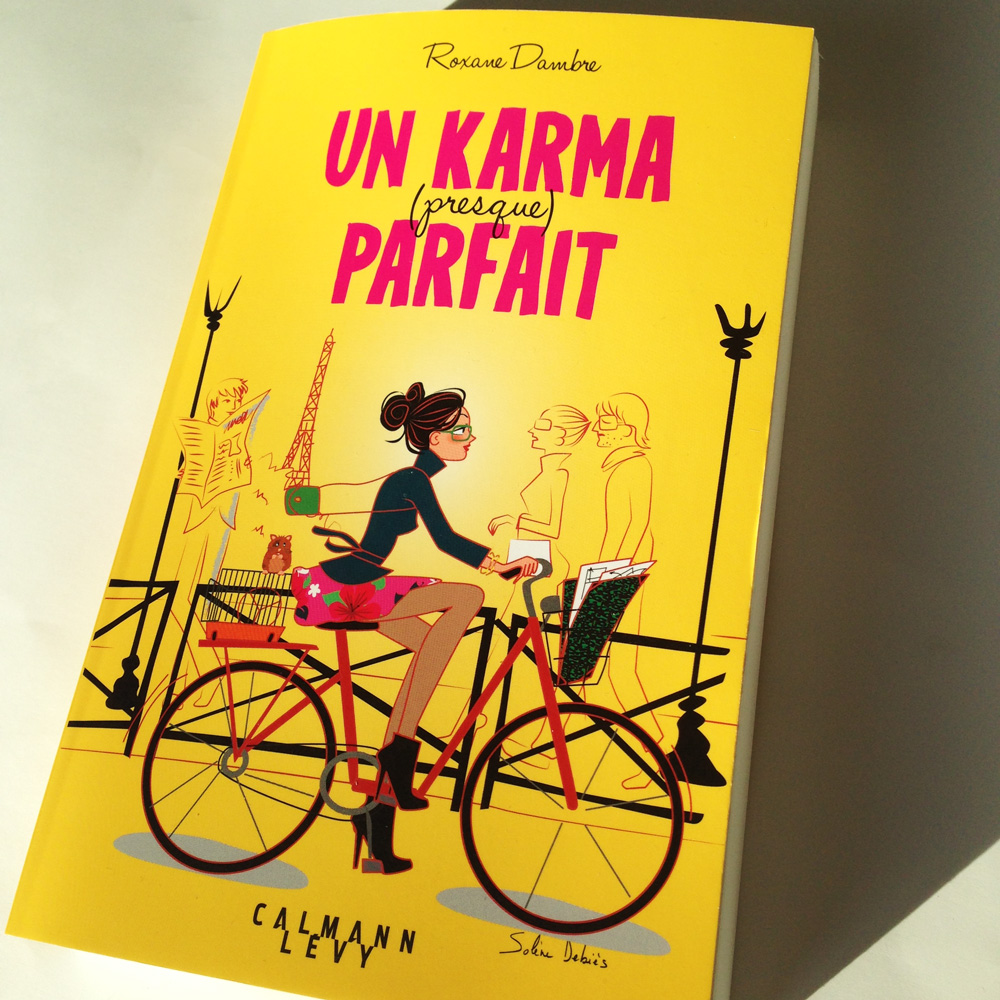 cover book: biking in Paris