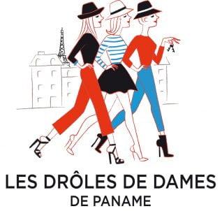 """Logo des """"Drôles de Dames de Paname"""""""