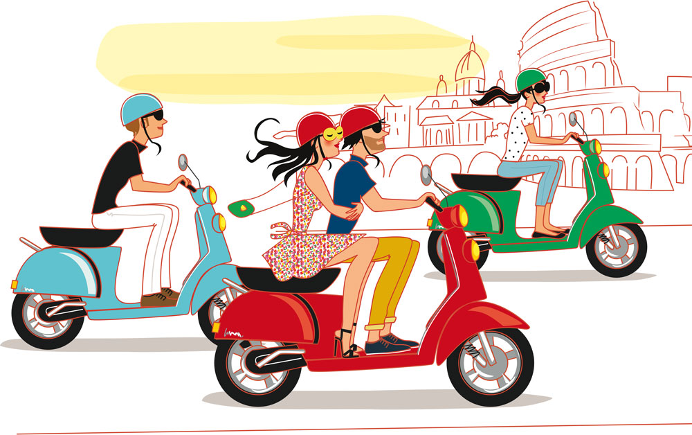 blog illustrator fashion travel lifestyle