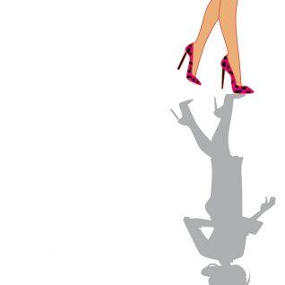 dessin femme mode pieds