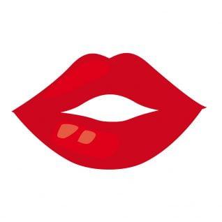 illustration bouche femme