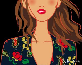 illustrator beauty graphic