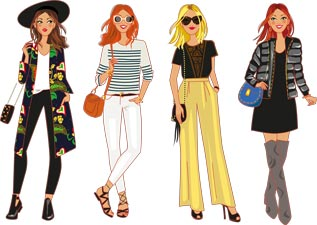 illustrator fashion designer