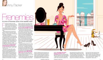 editorial illustrator beauty cosmetics