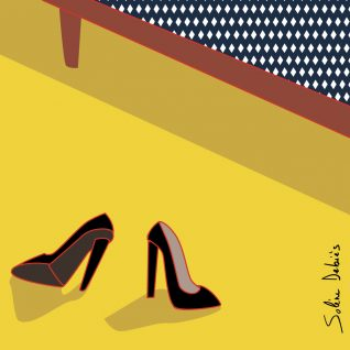 dessin chaussures talons