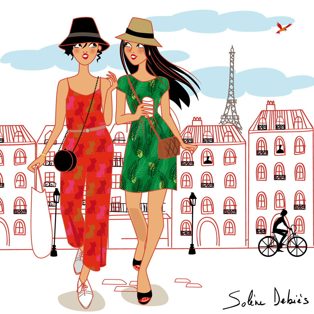 2 women in Paris