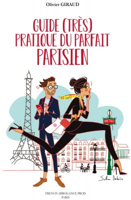 couverture livre humour parisien