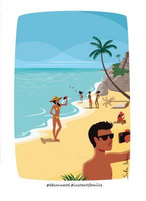 vacances instagram plage