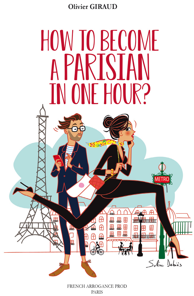 coverbook of the humorous book about parisians in Paris