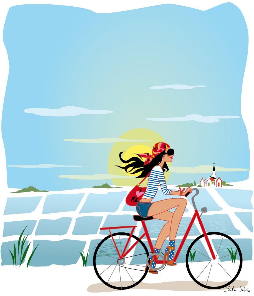 vélo ile de Ré femme