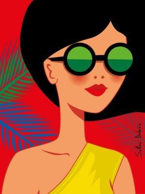 illustrator-heroine-woman
