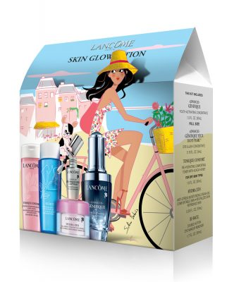 packaging PLV Lancôme illustration