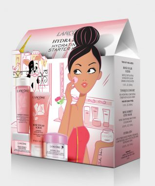Illustration du packaging Lancôme