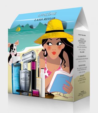 Illustration of the packaging Lancôme