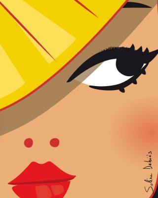 visage femme Asie