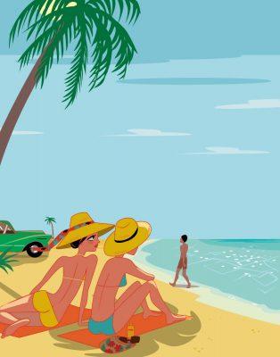affiche touristique Cuba