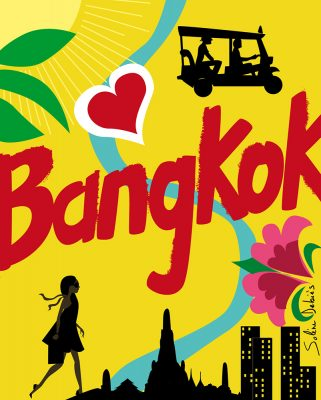 Plan graphique ville Bangkok