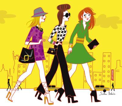 illustrateur femmes new-york