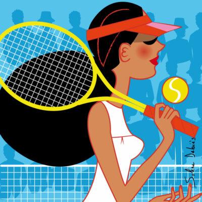 femme sport tennis