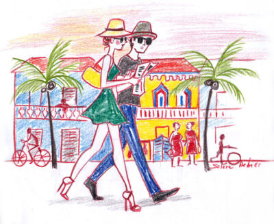 travel sketch Costa Rica