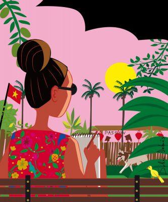 French illustrator traveler