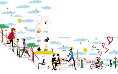 Frise murale pour Aéroports de Paris (projet)